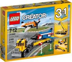 Lego  Creator voertuig Luchtvaartshow 31060
