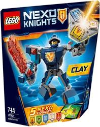 Lego  Nexo Knights set Strijdharnas Clay 70362