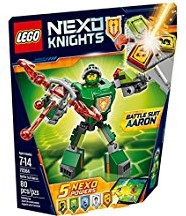 Lego  Nexo Knights set Strijdharnas Aaron 70364