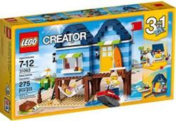 Lego  Creator gebouw Strandvakantie 31063