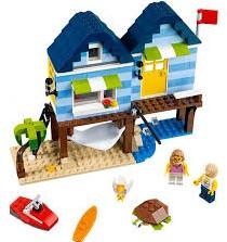 Lego  Creator gebouw Strandvakantie 31063-3