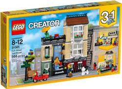Lego  Creator gebouw Parkstraat woonhuis 31065
