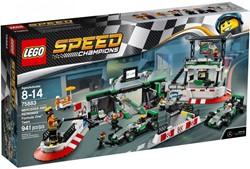 Lego  Speed Champions set Mercedes Amg Petronas Formel-Team 75883