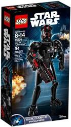 Lego Star Wars elite TIE Fighter piloot 75526