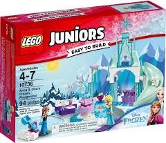 Lego  Juniors set Anna & Elsas bevroren speeltu 10736