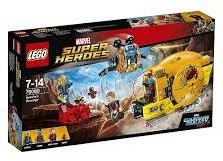 Lego  Super Heroes set Ravager Attack 76080