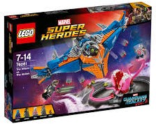 Lego  Super Heroes set Guardians of the Galaxy 76081