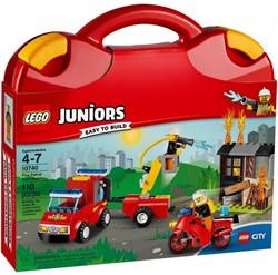 Lego  Juniors set Brandweerkoffer 10740