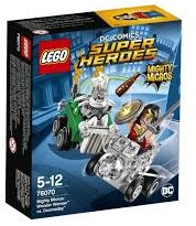 Lego  Super Heroes set Heroes Mighty Micros: Wonder Woman vs. Doomsday 76070