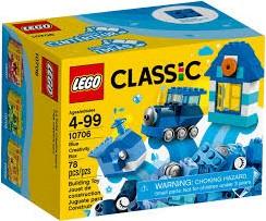 Lego  Classic set Creatieve bouwdoos blauw 10706