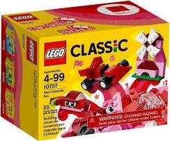 Lego  Classic set Creatieve bouwdoos rood 10707