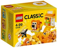 LEGO Classic Oranje creatieve doos 10709