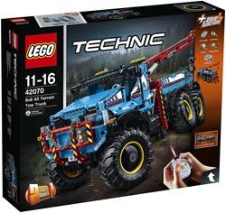 LEGO Technic 6x6 allterrain-sleepwagen 42070