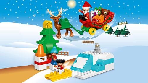 Lego Duplo Wintervakantie van de kerstman 10837-2