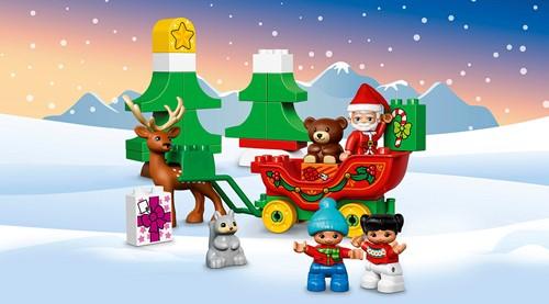 Lego Duplo Wintervakantie van de kerstman 10837-3