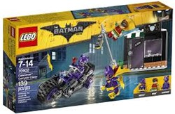 Lego  Batman set Catwoman Catcycle achtervolgin 70902