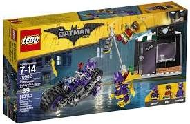 Lego  Batman set Catwoman Catcycle achtervolgin 70902