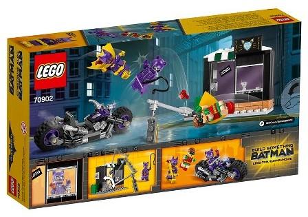Lego  Batman set Catwoman Catcycle achtervolgin 70902-2