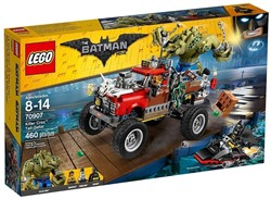 Lego  Batman set Killer Croc monstertruck 70907