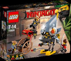 Lego Ninjago Piranha aanval 70629
