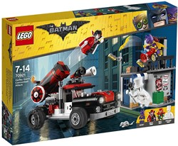 LEGO Batman Movie Harley Quinn™ kanonskogelaanval 70921