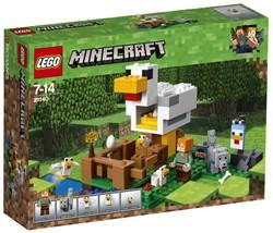 LEGO Minecraft Het kippenhok 21140