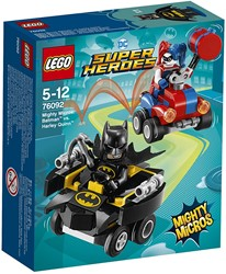 LEGO Super Heroes Mighty Micros: Batman vs Harley Quinn 76092