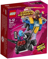 LEGO Super Heroes Mighty Micros: Star-Lord vs Nebula 76090