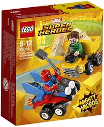 LEGO Super Heroes Mighty Micros: Spider-Man vs Sandman 76089