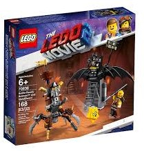 LEGO Movie 2 Gevechtsklare Batman en Metaalbaard 70836