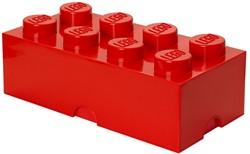 LEGO Opbergbox brick 8 rood