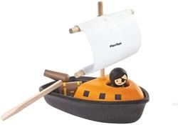 Plan Toys  houten badspeelgoed Pirate boat