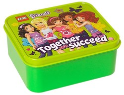 Lego  Friends Lunchbox: Groen