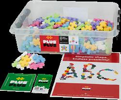 Plus-Plus educatie BIG Pastel - 400 stuks