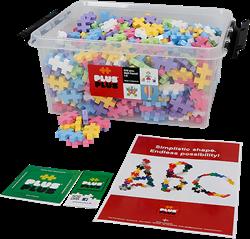 Plus-Plus educatie BIG Pastel - 600 stuks