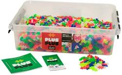 Plus-Plus education Mini Neon - 3600 stuks