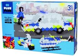 Plus-Plus Mini Basic - Police 3-in-1 - 480 stuks