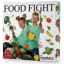 Planet Happy  kinderspel Food fight groente