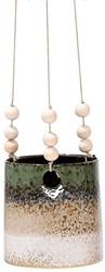 Bloomingville Flowerpot, Hanging, Green, Stoneware