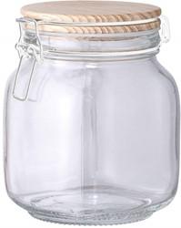 Bloomingville servies, Jar w/Lid, Clear, Glass