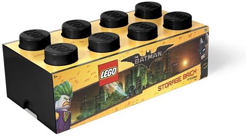 LEGO Batman Opbergbox Brick 8 - Zwart