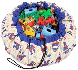 Play&Go  speelgoed opbergzak Superhero design