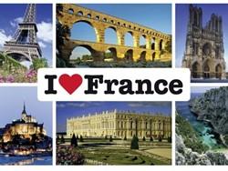 Schmidt  legpuzzel I love France - 1000 stukjes