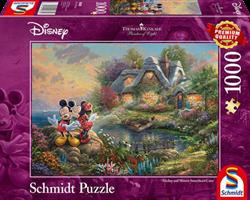 Thomas Kinkade puzzels