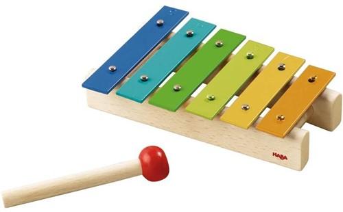 Haba  houten muziekinstrument Metallofoon 5990-1