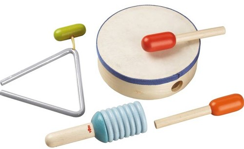 HABA Muziekinstrumenten - Slagwerkset-1