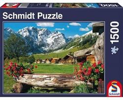 Schmidt  legpuzzel Am Karwendel-Massiv, - 1500 stukjes