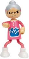 Hape poppenhuis poppen Modern Family Oma-2
