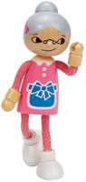 Hape poppenhuis poppen Modern Family Oma-3