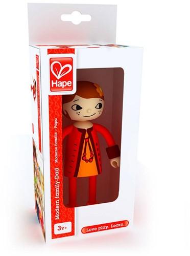 Hape poppenhuis poppen Modern Family Moeder-1
